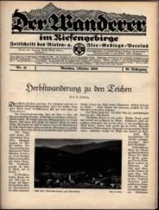 Der Wanderer im Riesengebirge, 1936, nr 10