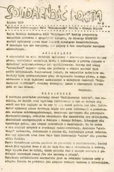 Biuletyn informacyjny NSZZ Solidarność Rokita w Brzegu Dolnym - sierpień 1988 [Dokument elektroniczny]