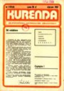 Kurenda : jeleniogórski informator oświatowy, 1987, nr 1 (4)