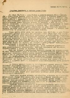 Niedobre incydenty w Lubiążu - 26 listopada 1981 [Dokument elektroniczny]