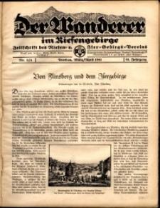Der Wanderer im Riesengebirge, 1941, nr 3-4