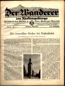 Der Wanderer im Riesengebirge, 1941, nr 5