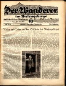 Der Wanderer im Riesengebirge, 1941, nr 9-10
