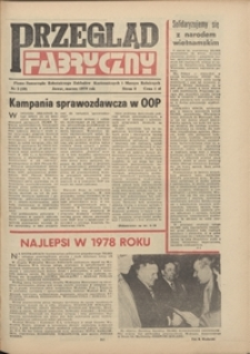 Przegląd Fabryczny : pismo samorządu robotniczego Zakładów Kuzienniczych i Maszyn Rolniczych w Jaworze, 1979, nr 3 (40)