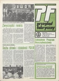 Przegląd Fabryczny : pismo załogi Zakładów Kuzienniczych i Maszyn Rolniczych w Jaworze, 1985, nr 9 (98)