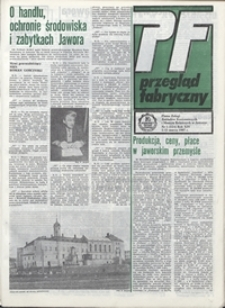 Przegląd Fabryczny : pismo załogi Zakładów Kuzienniczych i Maszyn Rolniczych w Jaworze, 1987, nr 5 (124)