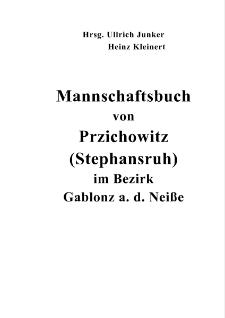 Mannschaftsbuch von Przichowitz (Stephansruh) im Bezirk Gablonz a. d. Neiße [Dokument elektroniczny]