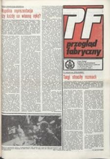 Przegląd Fabryczny : pismo załogi Zakładów Kuzienniczych i Maszyn Rolniczych w Jaworze, 1989, nr 20 (185)