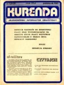Kurenda : jeleniogórski informator oświatowy, 1987, nr 5 (8)