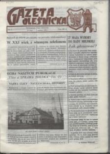 Gazeta Oleśnicka: dwutygodnik Ziemi Oleśnickiej, 1990, nr 05