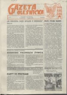 Gazeta Oleśnicka: dwutygodnik Ziemi Oleśnickiej, 1990, nr 15