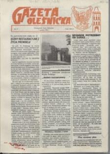 Gazeta Oleśnicka: dwutygodnik Ziemi Oleśnickiej, 1990, nr 17