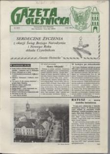 Gazeta Oleśnicka: dwutygodnik Ziemi Oleśnickiej, 1990, nr 18/19