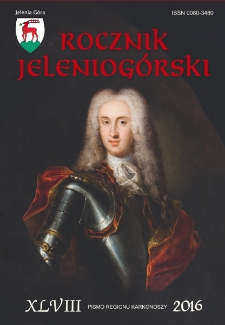 Rocznik Jeleniogórski : pismo regionu Karkonoszy, T. 48 (2016)