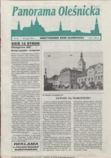 Panorama Oleśnicka: dwutygodnik Ziemi Oleśnickiej, 1991, nr 25