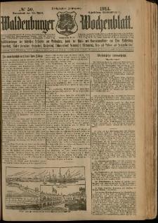 Waldenburger Wochenblatt, Jg. 60, 1914, nr 50