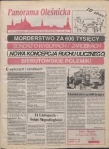 Panorama Oleśnicka: dwutygodnik Ziemi Oleśnickiej, 1991, nr 37