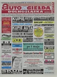 Auto Giełda Dolnośląska : regionalna gazeta ogłoszeniowa, 2004, nr 47 (1135) [23.04]