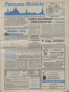 Panorama Oleśnicka: dwutygodnik Ziemi Oleśnickiej, 1992, nr 48