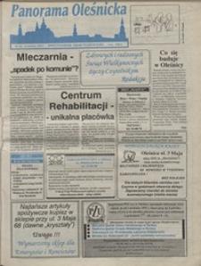 Panorama Oleśnicka: dwutygodnik Ziemi Oleśnickiej, 1992, nr 50