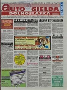 Auto Giełda Dolnośląska : regionalna gazeta ogłoszeniowa, 2004, nr 78 (1166) [7.07]