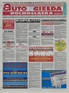 Auto Giełda Dolnośląska : regionalna gazeta ogłoszeniowa, 2004, nr 80 (1168) [12.07]