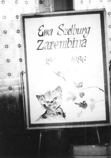 Wystawka poświęcona Ewie Szelburg-Zarembinie [Dokument ikonograficzny]