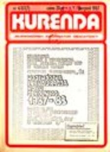 Kurenda : jeleniogórski informator oświatowy, 1987, nr 4 (7)