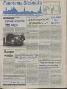 Panorama Oleśnicka: dwutygodnik Ziemi Oleśnickiej, 1992, nr 62