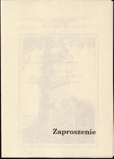 Salvador Dali - Biblia w obrazach : faksymile z kolekcji Jana Hałuszki - zaproszenie [Dokument życia społecznego]