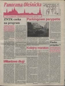 Panorama Oleśnicka: tygodnik Ziemi Oleśnickiej, 1992, nr 71