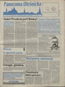 Panorama Oleśnicka: tygodnik Ziemi Oleśnickiej, 1992, nr 72