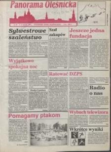 Panorama Oleśnicka: tygodnik Ziemi Oleśnickiej, 1993, nr 1