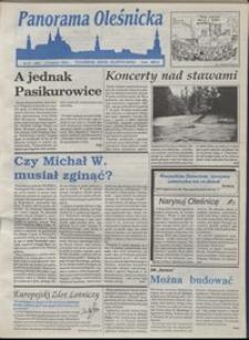 Panorama Oleśnicka: tygodnik Ziemi Oleśnickiej, 1993, nr 22