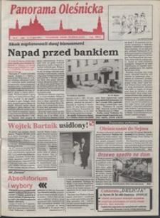 Panorama Oleśnicka: tygodnik Ziemi Oleśnickiej, 1993, nr 27