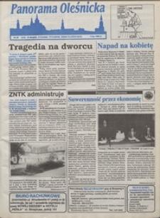 Panorama Oleśnicka: tygodnik Ziemi Oleśnickiej, 1993, nr 35