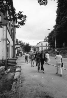 Szklarska Poręba - ulica Jedności Narodowej (fot. 1) [Dokument ikonograficzny]