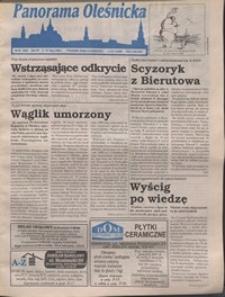 Panorama Oleśnicka: tygodnik Ziemi Oleśnickiej, 1996, nr 28