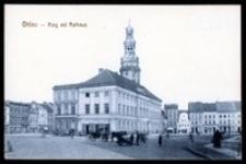 Ohlau - Ring mit Rathaus [Dokument ikonograficzny]