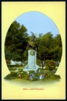 Ohlau - Schill-Denkmal [Dokument ikonograficzny]