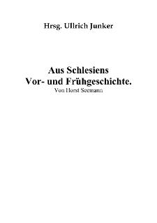 Aus Schlesiens Vor- und Frühgeschichte [Dokument elektroniczny]