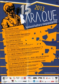 15 Baraque - plakat [Dokument życia społecznego]