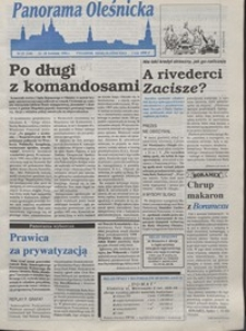 Panorama Oleśnicka: tygodnik Ziemi Oleśnickiej, 1994, nr 15