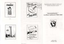 Solidarność w afiszu i plakacie 1980-1981 - folder [Dokument życia społecznego]