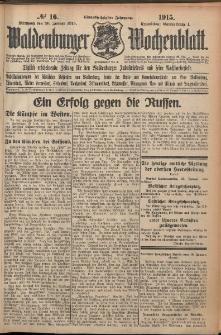 Waldenburger Wochenblatt, Jg. 61, 1915, nr 16