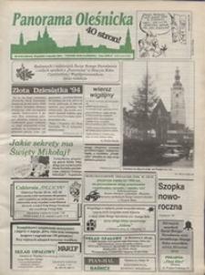 Panorama Oleśnicka: tygodnik Ziemi Oleśnickiej, 1994, nr 51/52