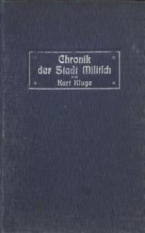 Chronik der Stadt Militsch