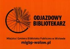 Odjazdowy Bibliotekarz 2015 - chorągiewka na rowery [Dokument życia społecznego]
