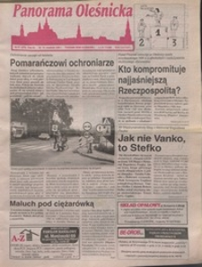 Panorama Oleśnicka: tygodnik Ziemi Oleśnickiej, 1996, nr 37