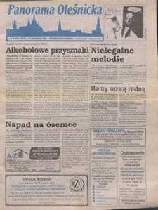 Panorama Oleśnicka: tygodnik Ziemi Oleśnickiej, 1996, nr 38